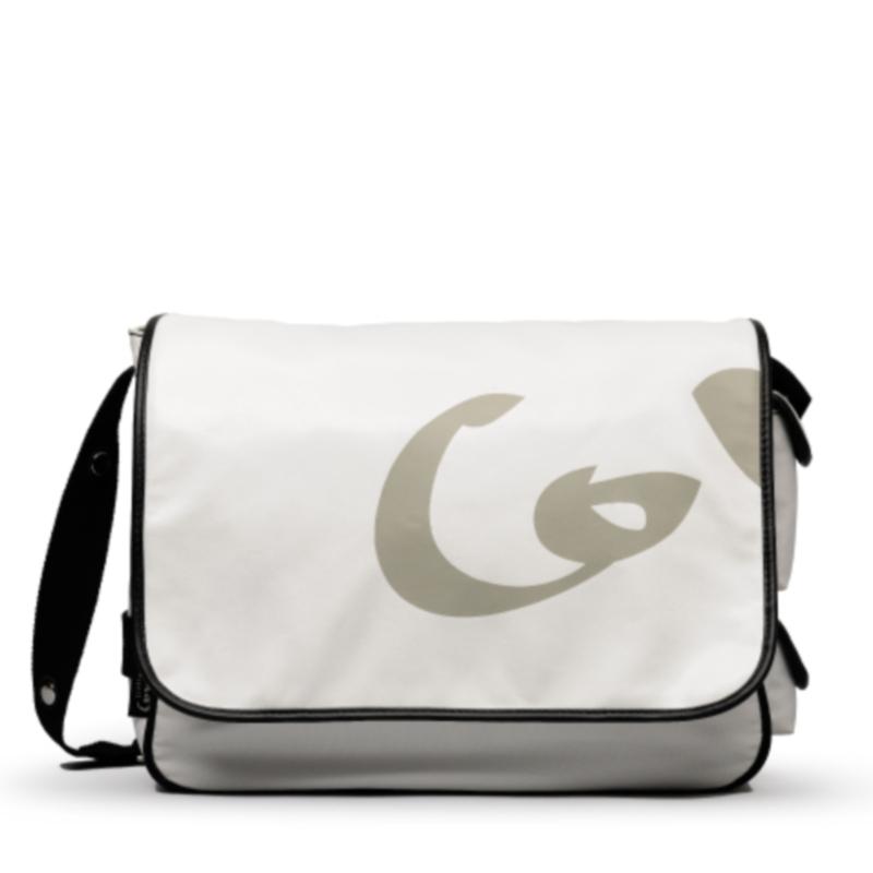 Saco Muda Fraldas Little Company Black Label Messenger Bag