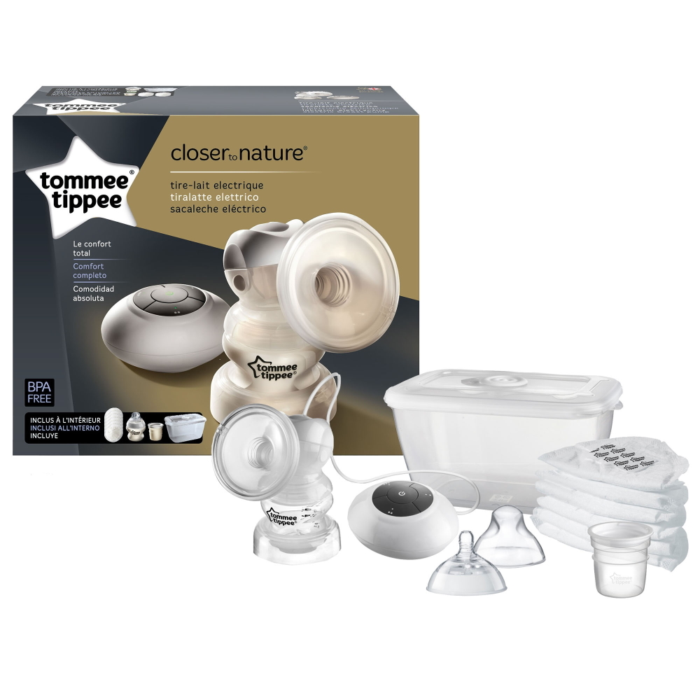 Extrator elétrico de leite Tommee Tippee Closer to Nature Electric Breast Pump