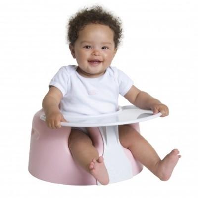 Assento ergonómico para bebés com bandeja Bumbo Combo Floor Seat with Play Tray