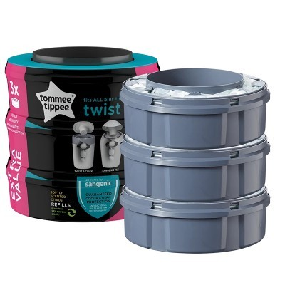 Recargas Tommee Tipee Twist&Click and Sangenic Tec Refill Cassetes.