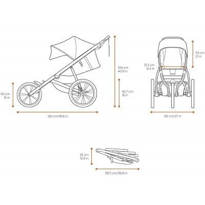 Carro bebé Thule Glide 2 Baby Stroller