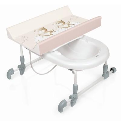 Banheira com muda fraldas Brevi Bagnotime Bath with changing matress