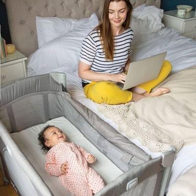 Berço de viagem Joie Kubbie Sleep Travel Crib