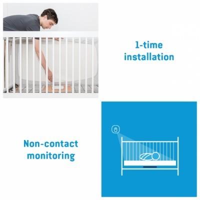 Monitor de vigilância (vídeo, som e movimento) Angelcare AC527 Wireless Baby Movement Monitor