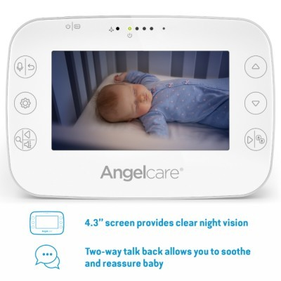 Monitor de vigilância (vídeo, som e movimento) Angelcare AC327 Wireless Baby Movement Monitor