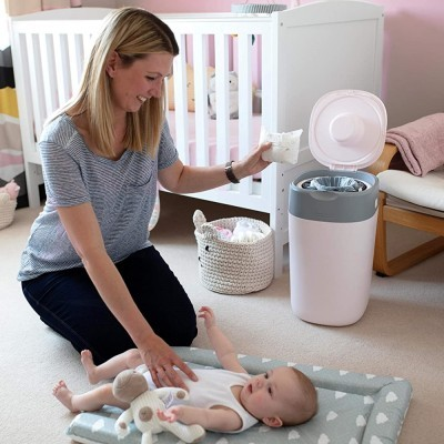 Contentor de fraldas Tommee Tippee Twist & Click Nappy Disposal System