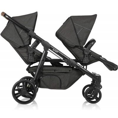 Carro gémeos/2 crianças Brevi Ovo Twin Baby Stroller