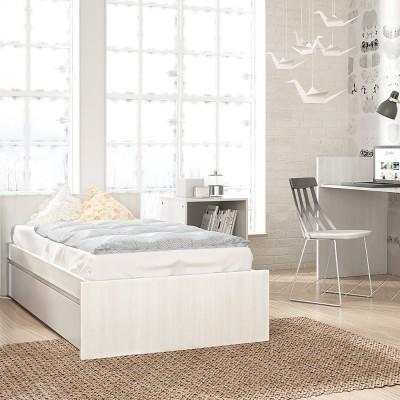 Cama convertível Combi Cool Branco Zen/Cinza Coco