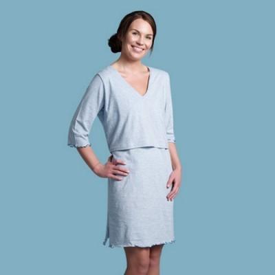 Camisa de dormir de aleitamento Carriwell Sarah Sleep Shirt