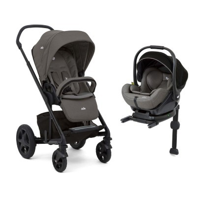 Duo com base isofix Joie Chrome DLX Next Level Travel System