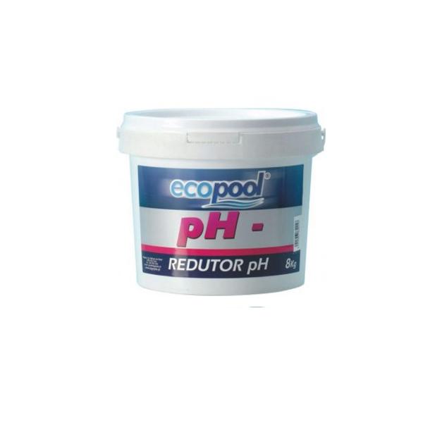 pH menos granulado 8 KG - ECOPOOL