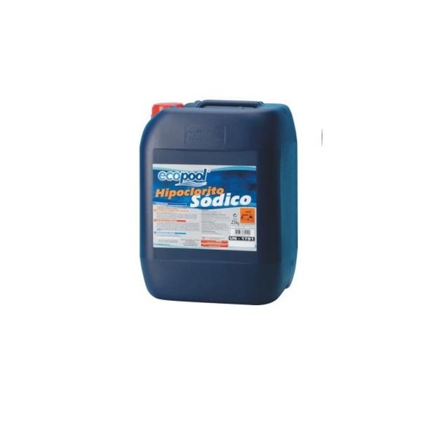 Hipoclorito de Sódio Líquido 20 KG - ECOPOOL