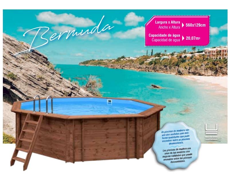 Piscina De Madeira - Bermuda [Sujeito a confirmação de stock]