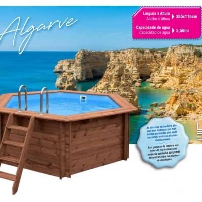 Piscina De Madeira - Algarve [ Sujeito a confirmação de stock ]