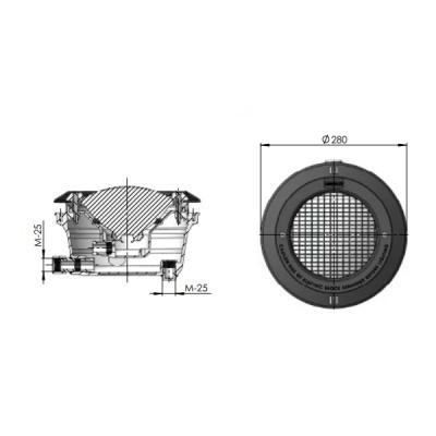 Projetor completo LED branco - ECOPOOL
