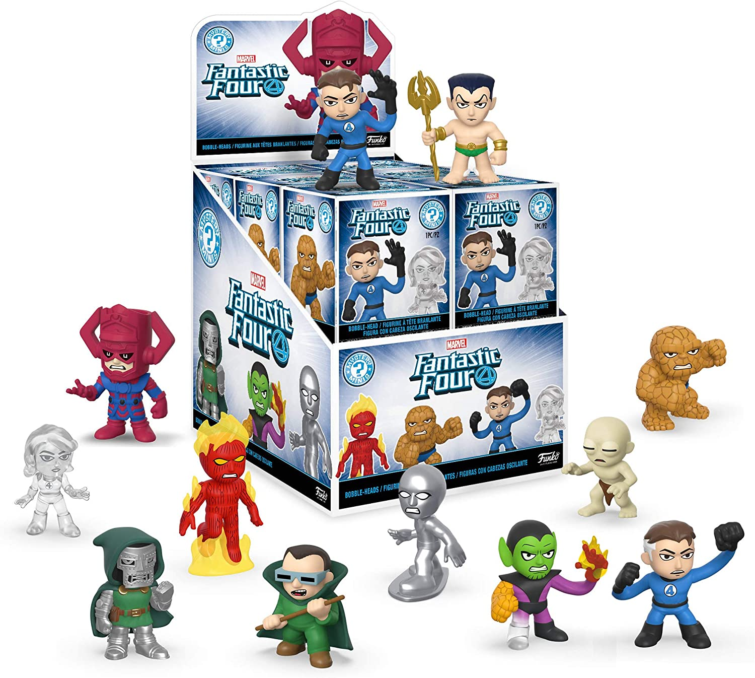 Funko POP! Mystery Mini Figures Blind Box Fantastic Four