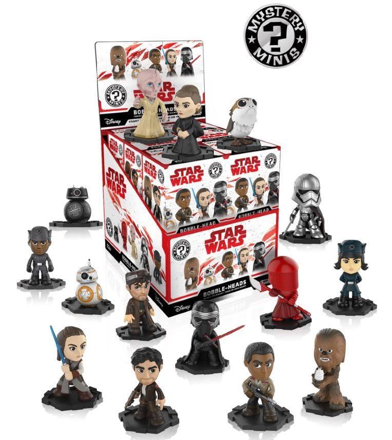 Funko POP! Mystery Mini Figures Blind Box Star Wars Episode VIII Last Jedi