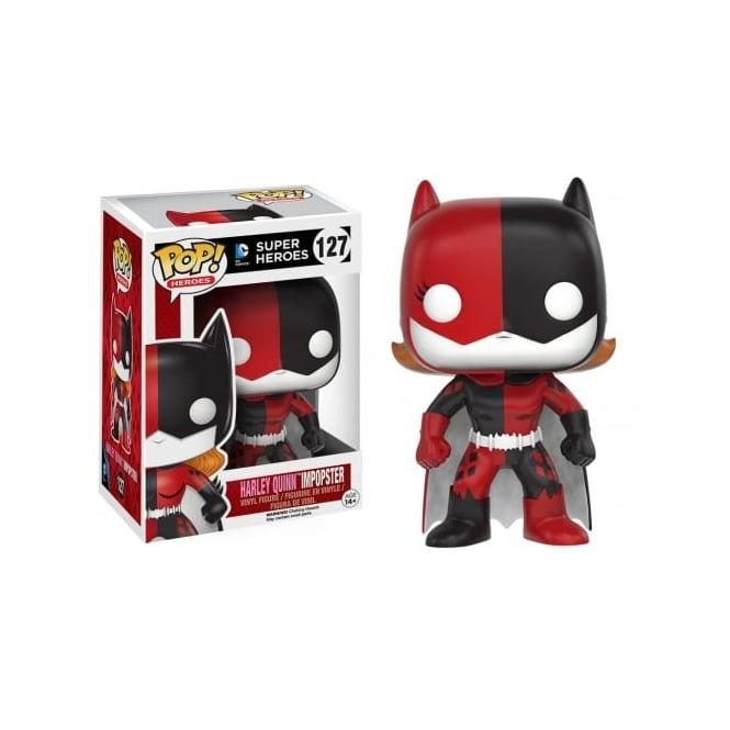Funko POP! DC Super Heroes Harley Quinn Impopster #127