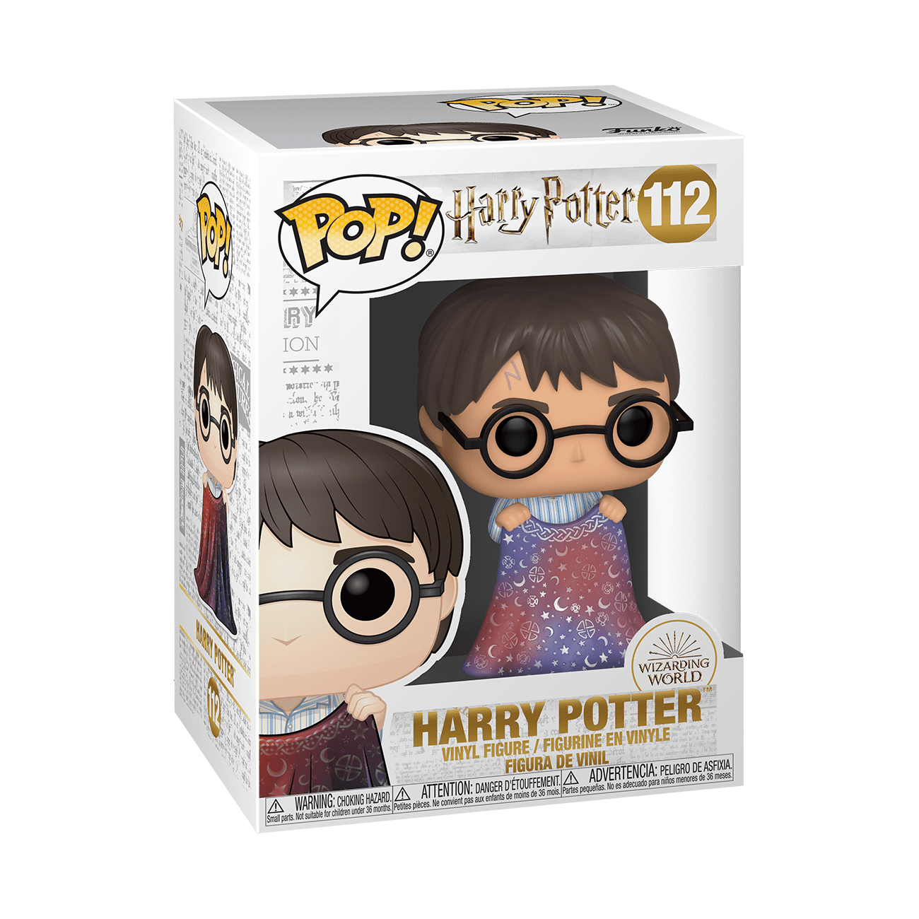 Funko POP! Harry Potter Harry Potter w/ Invisibility Cloak #112