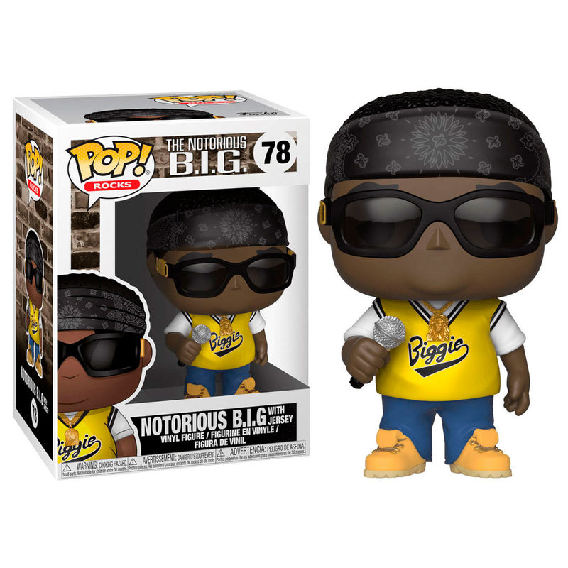 Funko! Pop Notorious B.I.G. with Jersey
