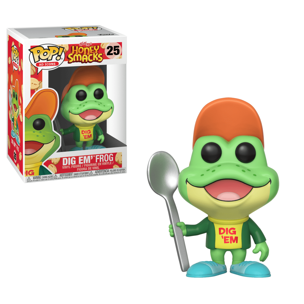 Funko! Pop Ad Icons Kellogg's Honey Snacks Dig Em'Frog #25