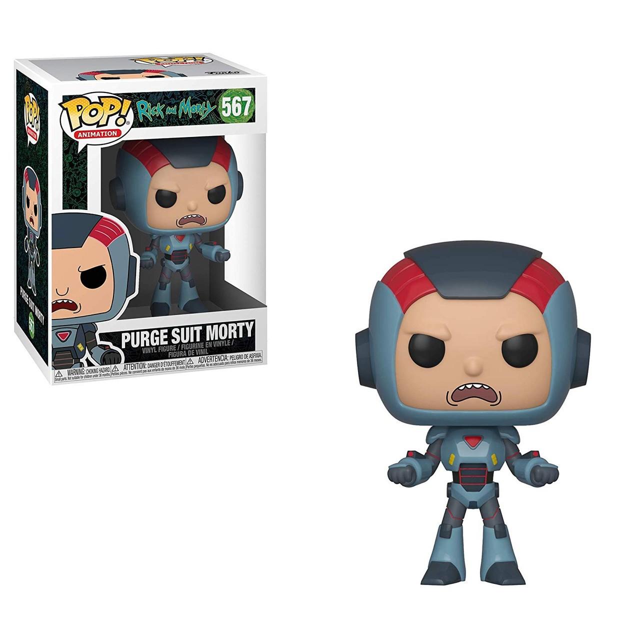Funko POP! Rick & Morty Purge Suit Morty #567