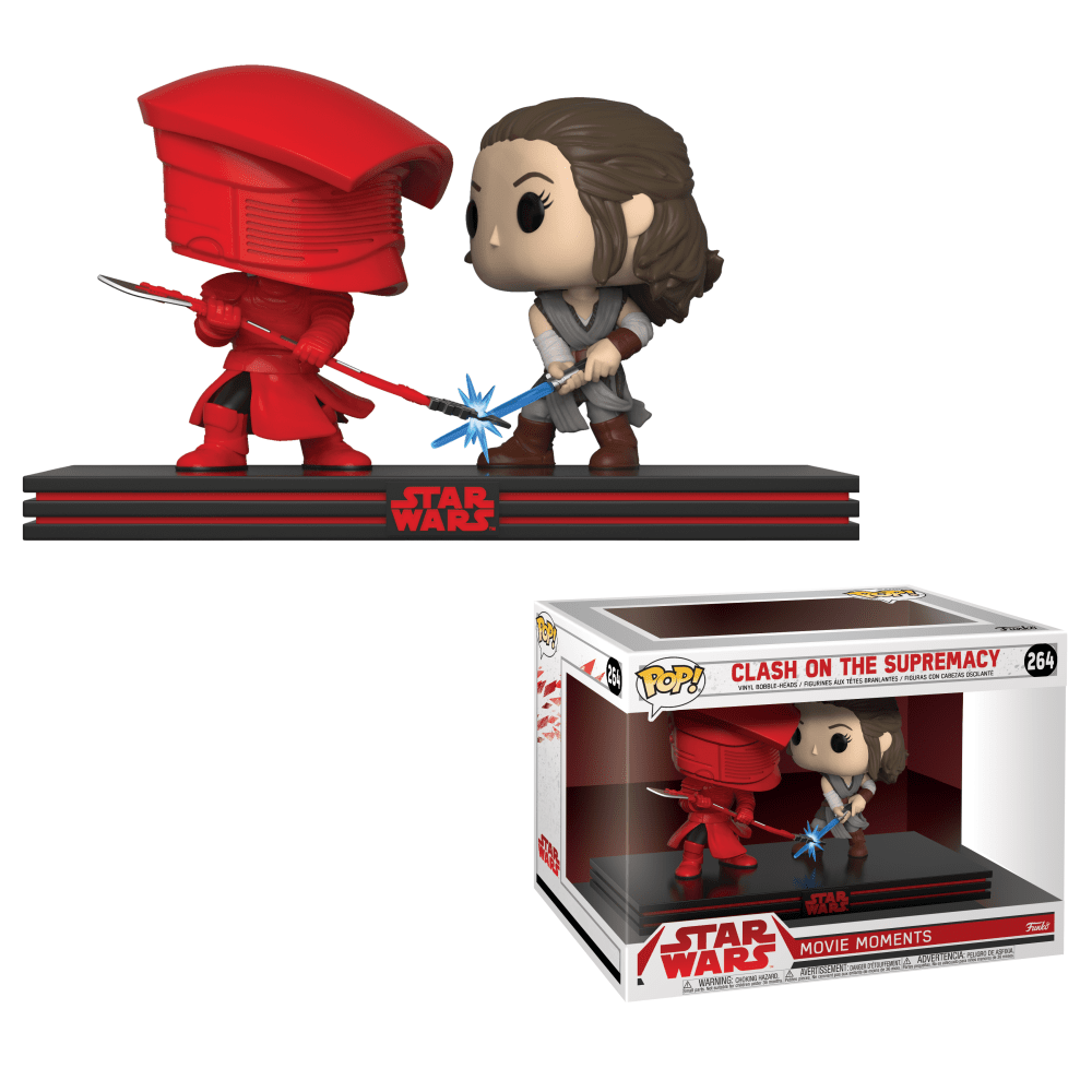Funko! Pop Movie Moments Star Wars Clash On The Supremacy #264