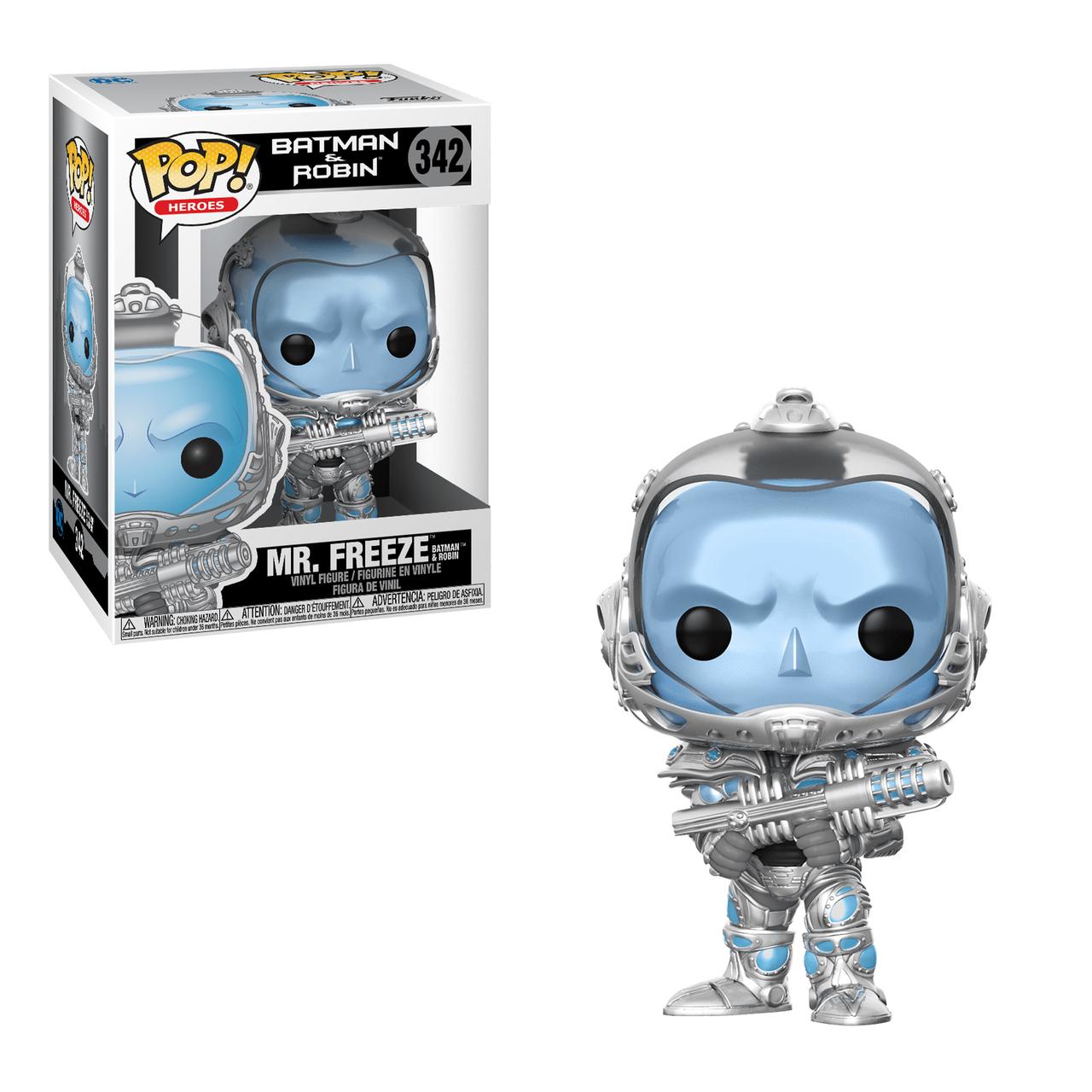 Funko POP! Heroes Batman & Robin Mr. Freeze #342