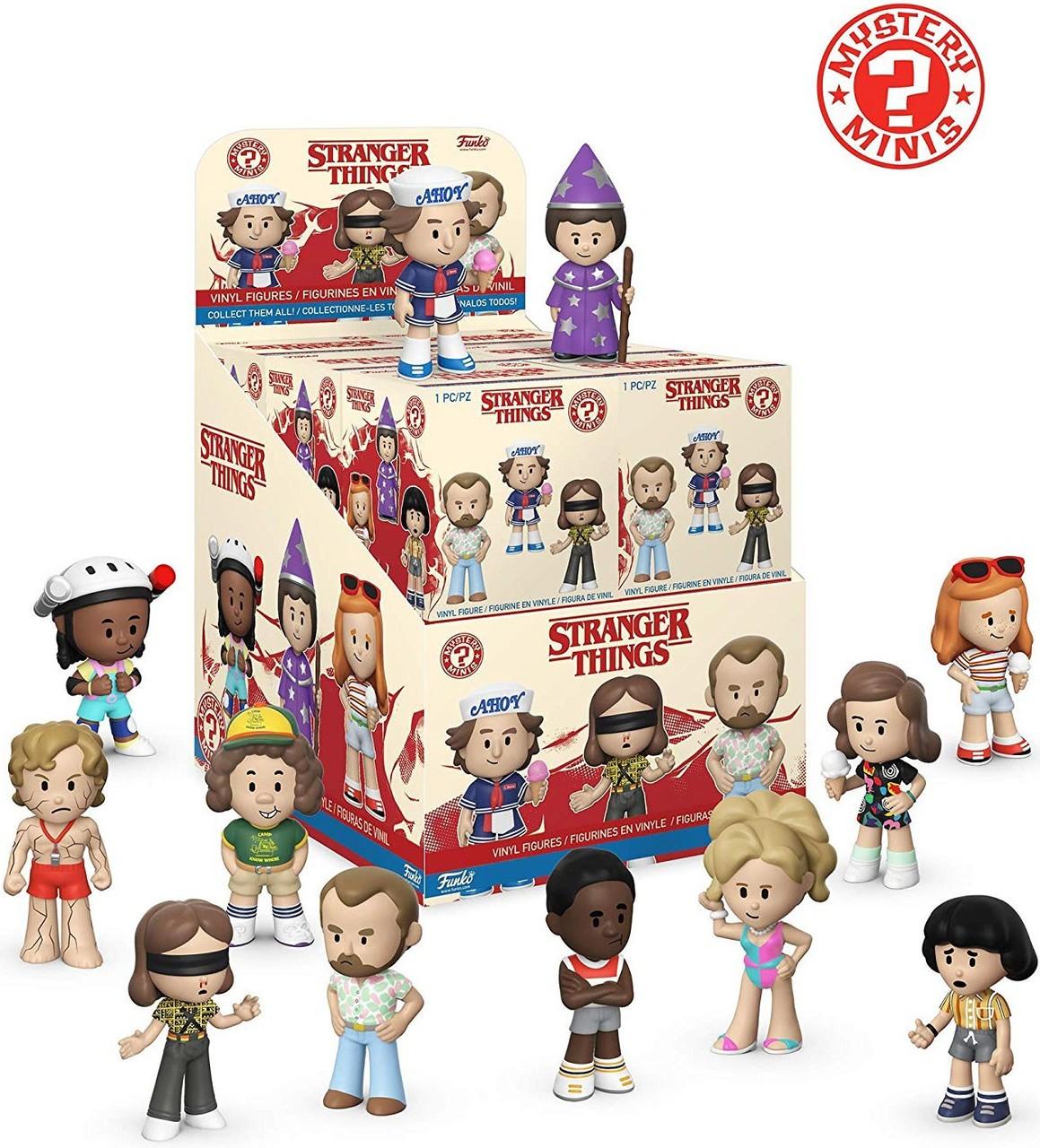 Funko! Pop Mystery Mini Figures Blind Box Stranger Things Season 3
