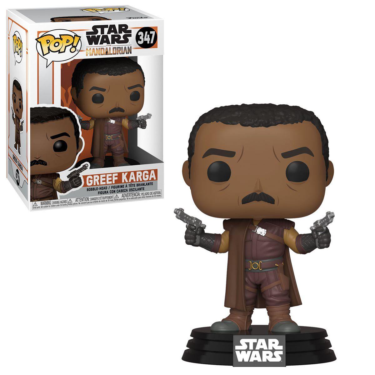 Funko! Pop Star Wars Mandalorian Greef Karga #347