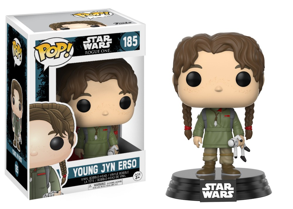 Funko! Pop Star Wars Rogue One Young Jyn Erso #185