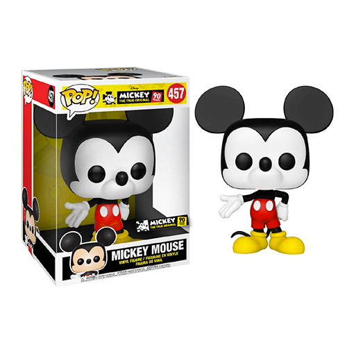 """Funko POP! Mickey Mouse Color 90 Years 10"""" Super Sized #457"""