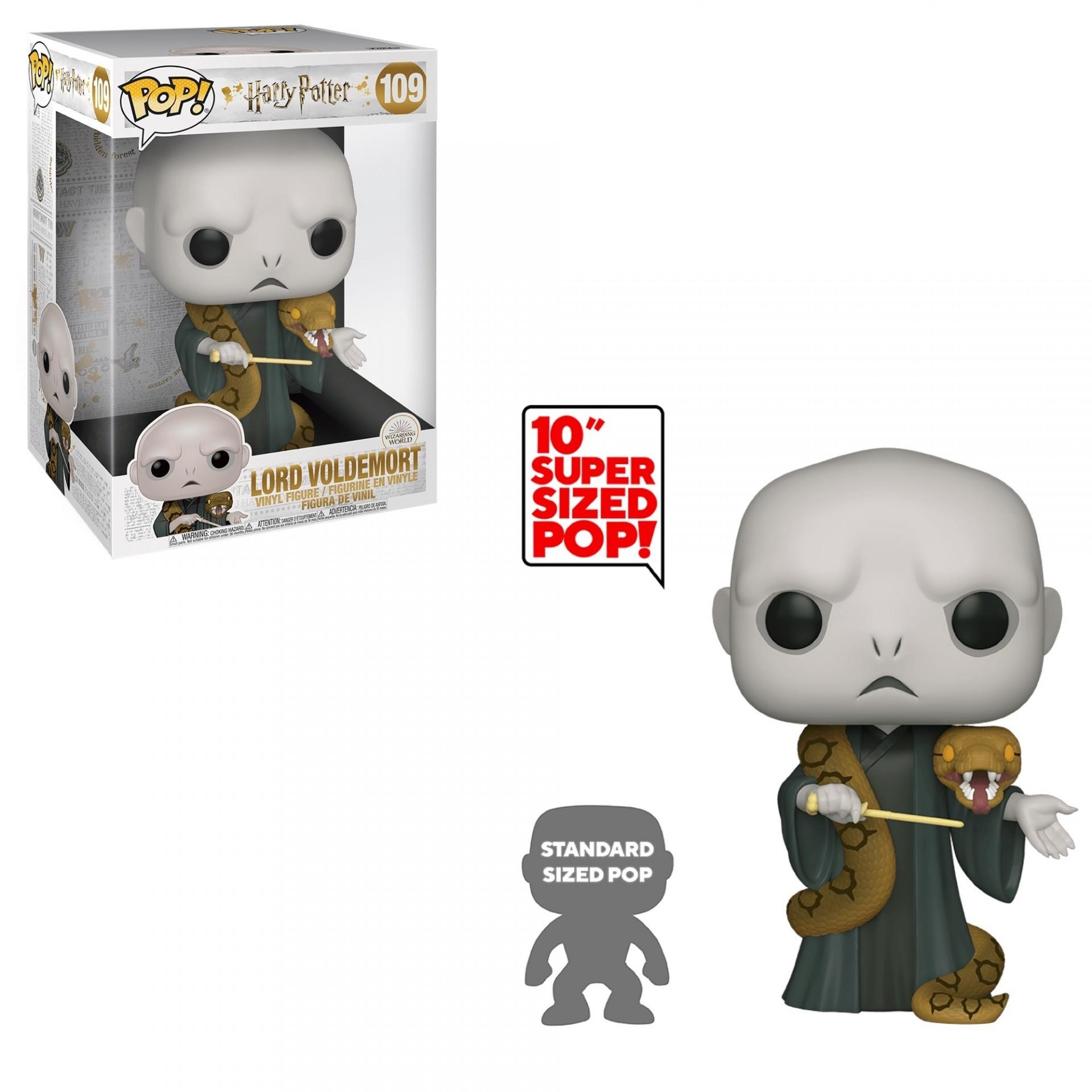 Funko POP! Harry Potter Lord Voldemort Supersized 10''  #109