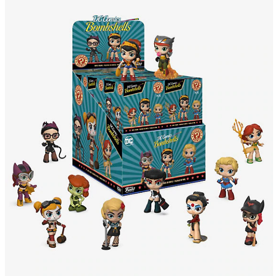 Funko POP! Mystery Mini Figures Blind Box DC Comics Bombshells Exclusive