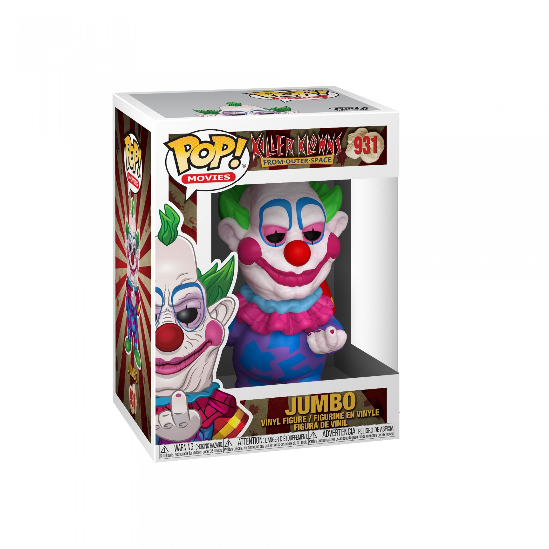 Funko! Pop Movies Killer Klowns From Outer Space Jumbo #931