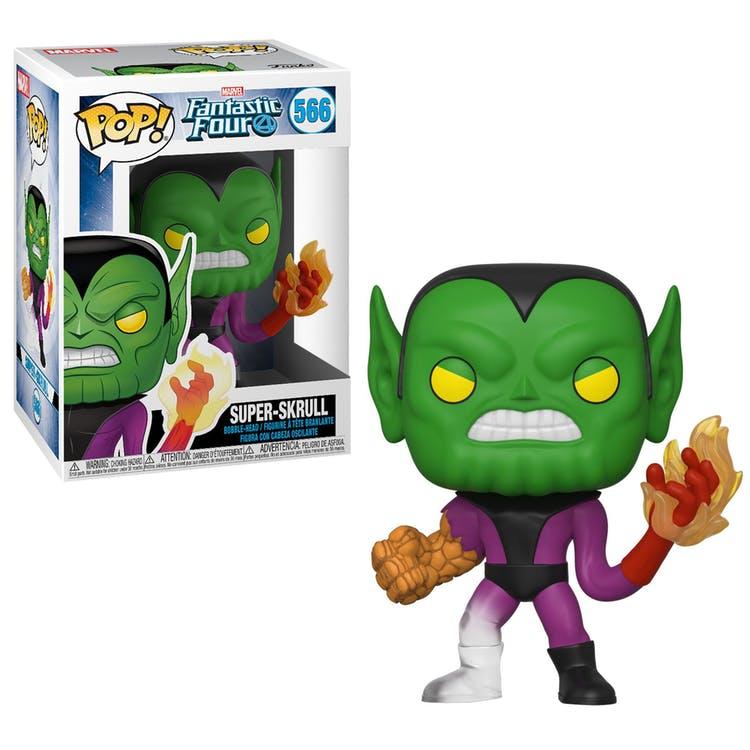 Funko! Pop Marvel Fantastic Four Super-Skrull #566