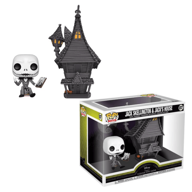 Funko! Pop Disney Nightmare Before Christmas Jack Skellington and Jack's House