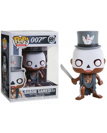 Funko! Pop 007 James Bond Baron Samedi from Live and Let Die