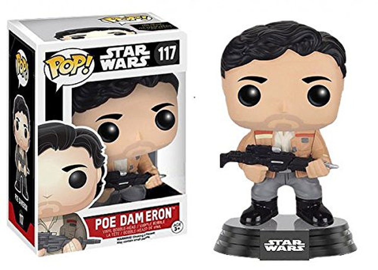 Funko! Pop Star Wars Poe Dameron #117 Exclusive