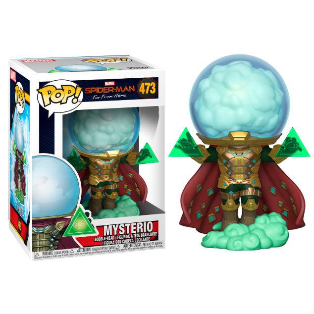 Funko! Pop Spiderman Far From Home Mysterio