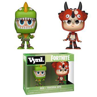 Funko! Vynl Fornite Rex + Tricera Ops