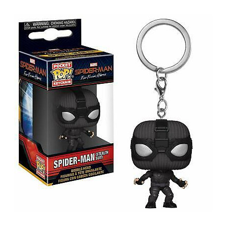 Funko Pocket POP! Keychain Spiderman Far From Home Spiderman Stealth Suit