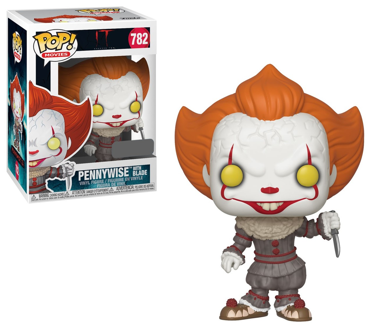 Funko! Pop IT Chapter Two Pennywise with Blade Special Edition