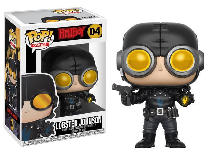 Funko! Pop Comics Hellboy Lobster Johnson #04