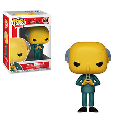 Funko POP! The Simpsons Mr. Burns #501