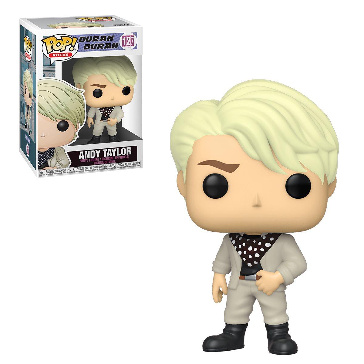 Funko! Pop Rocks Duran Duran Andy Taylor #127