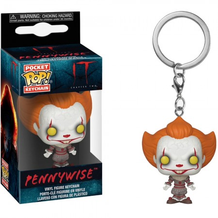 Funko Pocket POP! Keychain IT Chapter 2 Pennywise Open Arms