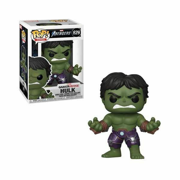 Funko! Pop Games Marvel Avengers GamerVerse Hulk #629