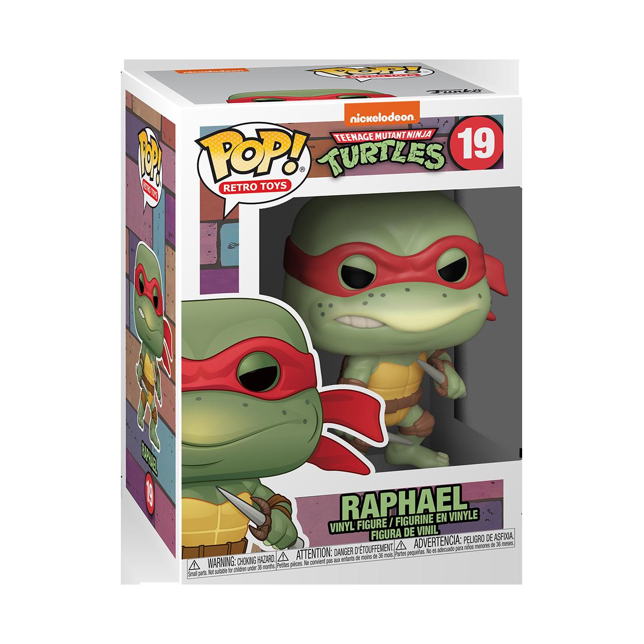 Funko POP! Retro Toys Teenage Mutant Ninja Turtles Raphael #19
