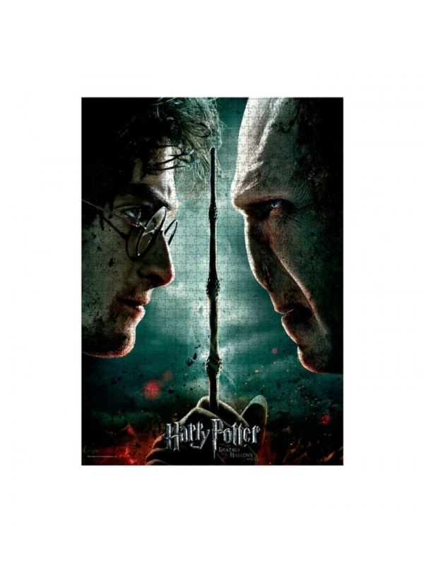 Puzzle Harry Potter And The Deathly Hallows Part II 1000 Peças SD Toys